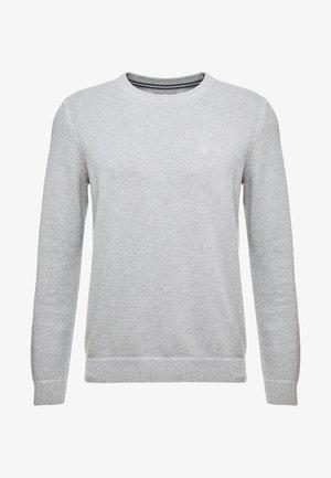 PULLOVER CREW NECK - Svetr - grey melange