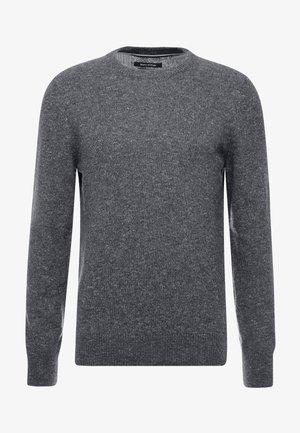 Svetr - dark grey melange