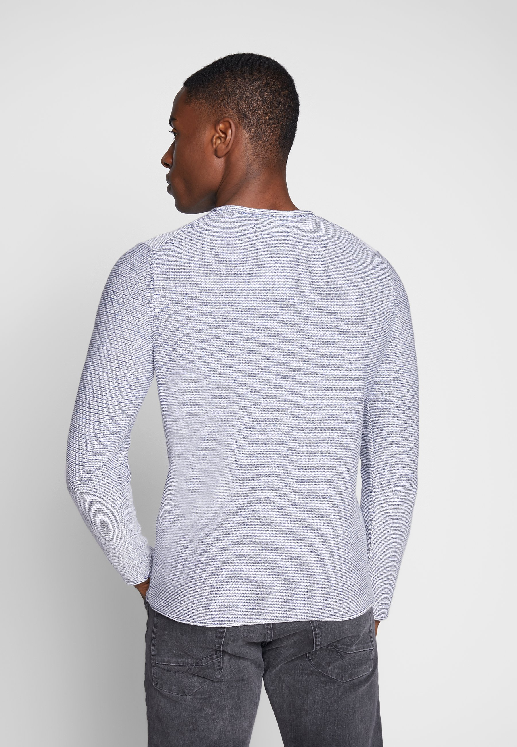 Marc O'polo Pullover, Crew Neck - Stickad Tröja Multi/total Eclipse