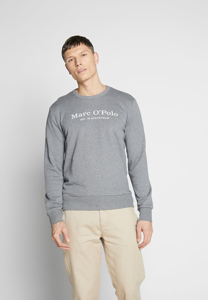 Marc O'Polo - CREW NECK - Sweatshirt - grey melange