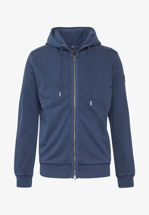 HOODIE JACKET SIDE POCKETS - Sudadera con cremallera - total eclipse