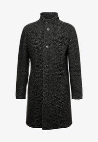 Marc O'Polo - COAT LONG SLEEVE - Short coat - dark grey melange - 5