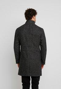 Marc O'Polo - COAT LONG SLEEVE - Short coat - dark grey melange - 2