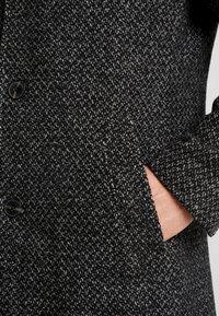 Marc O'Polo - COAT LONG SLEEVE - Short coat - dark grey melange - 6