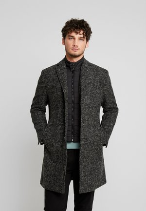 COAT REGULAR FIT LONG SLEEVE - Kappa / rock - dark grey melange