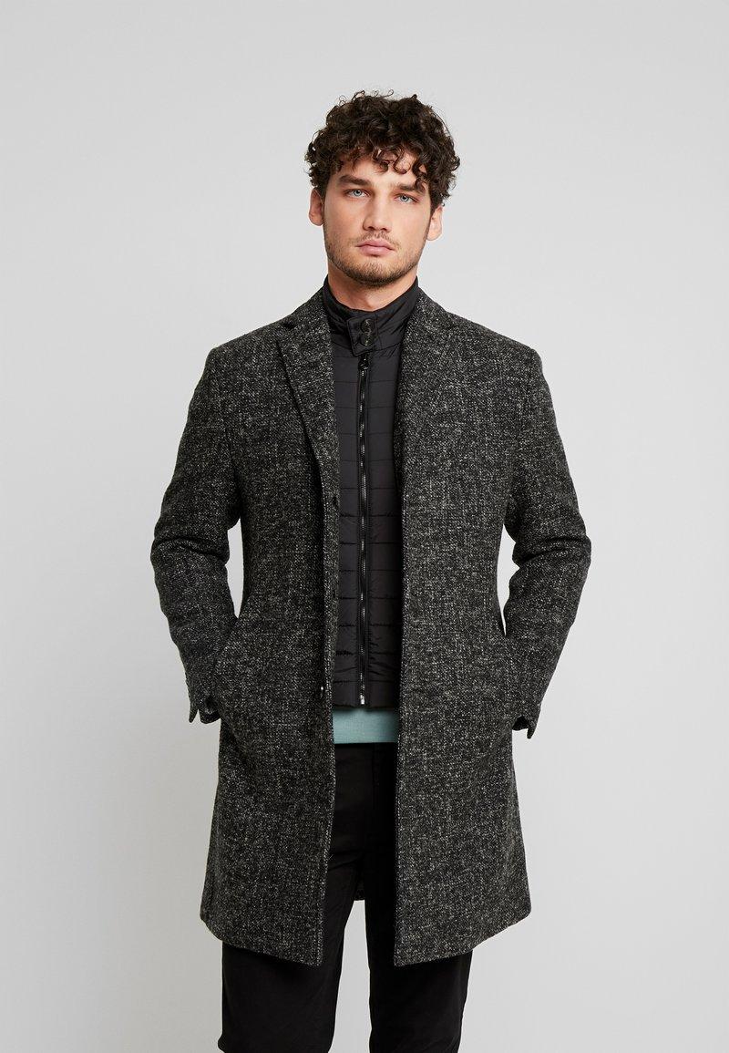 Marc O'Polo - COAT REGULAR FIT LONG SLEEVE - Zimní kabát - dark grey melange