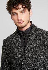 Marc O'Polo - COAT REGULAR FIT LONG SLEEVE - Zimní kabát - dark grey melange - 4