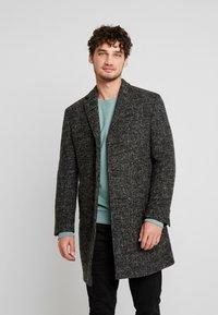 Marc O'Polo - COAT REGULAR FIT LONG SLEEVE - Zimní kabát - dark grey melange - 3