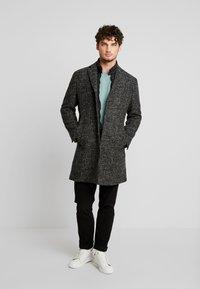 Marc O'Polo - COAT REGULAR FIT LONG SLEEVE - Zimní kabát - dark grey melange - 1