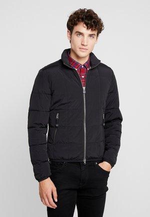 REGULAR FIT LONG SLEEVE - Zimní bunda - black