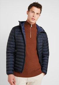 Marc O'Polo - REGULAR FIT - Lett jakke - dark blue - 0