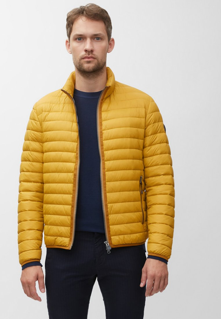 Marc O'Polo - REGULAR FIT LONG SLEEVE - Light jacket - yellow