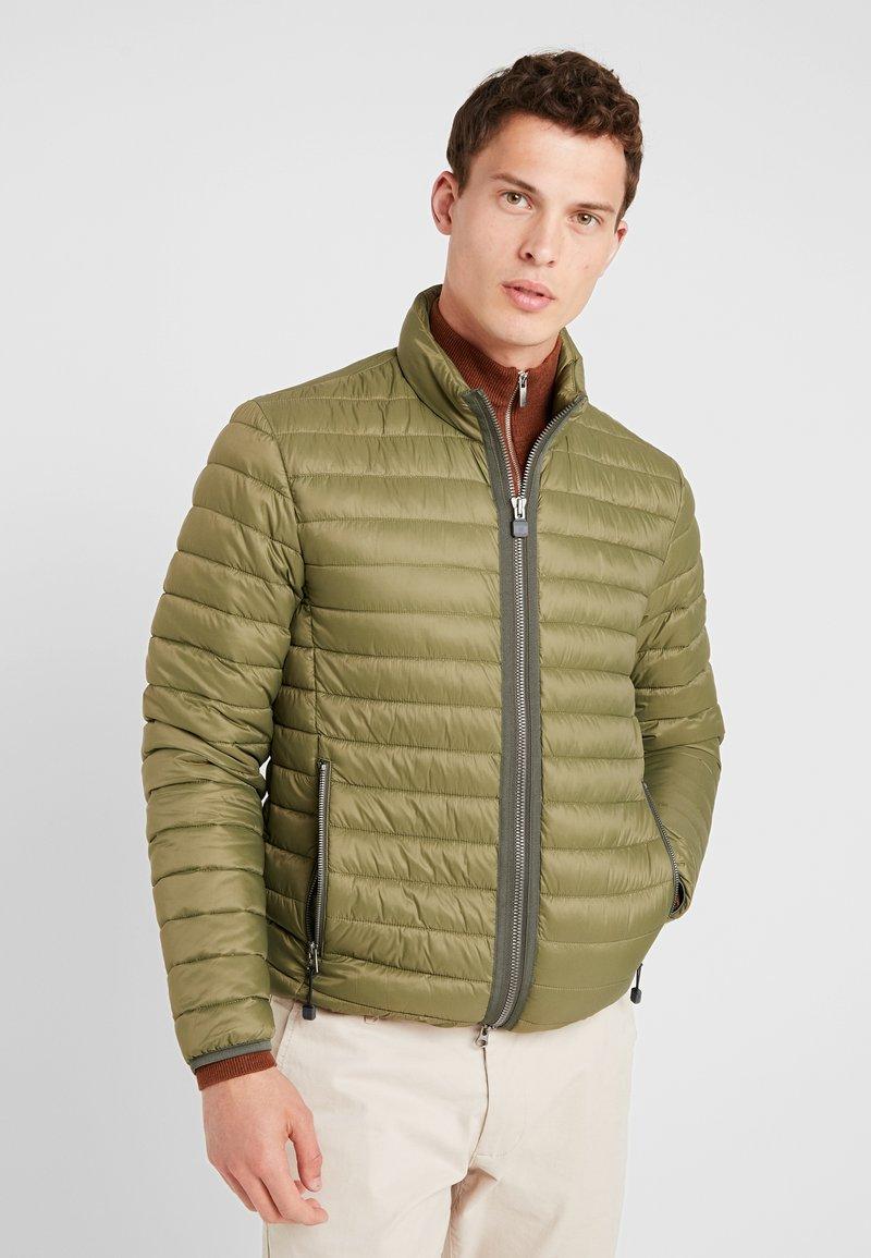 Marc O'Polo - REGULAR FIT LONG SLEEVE - Light jacket - pesto