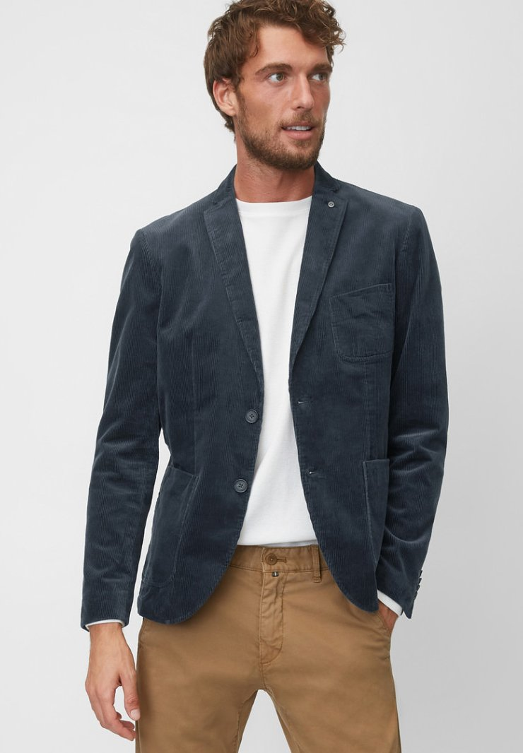 Marc O'Polo - SHAPED FIT - Blazer jacket - dark blue