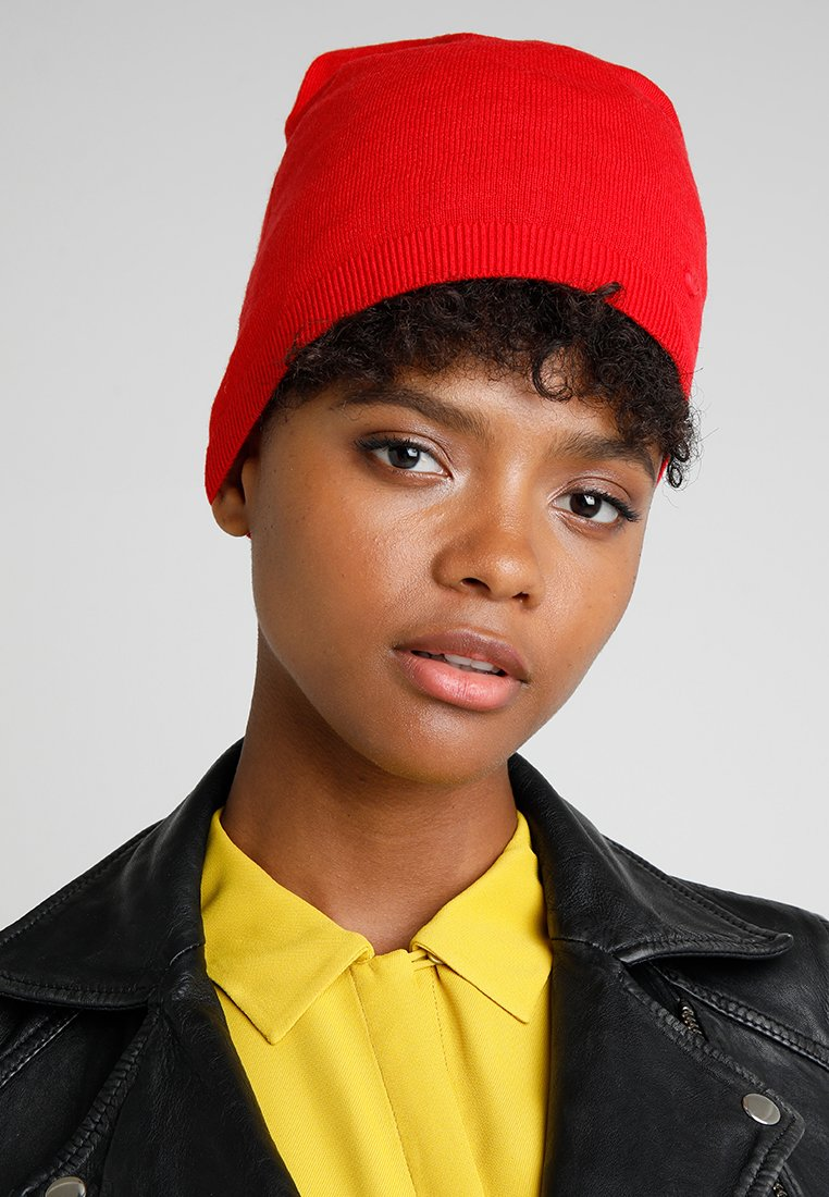 Marc O'Polo - HAT SOLID - Beanie - lipstick red