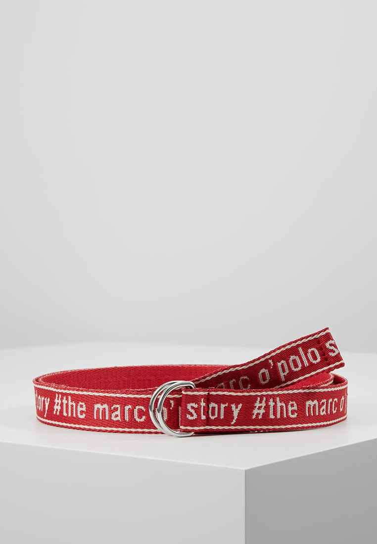 Marc O'Polo - BELT WORDING TAPE D-RING - Belt - combo