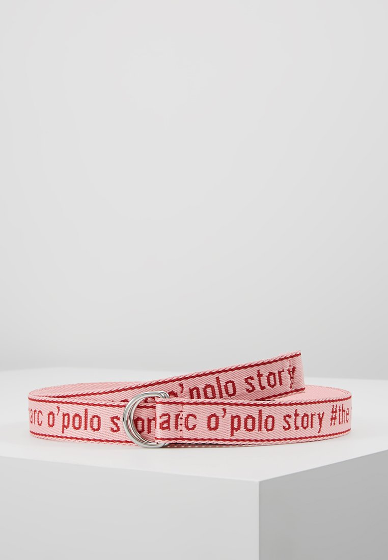 Marc O'Polo - BELT WORDING TAPE D-RING - Riem - combo