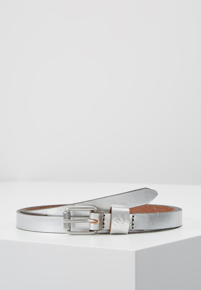 Marc O'Polo - BELT LADIES - Belt - silver metallic