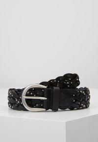 Marc O'Polo - BELT LADIES - Cinturón trenzado - black - 0