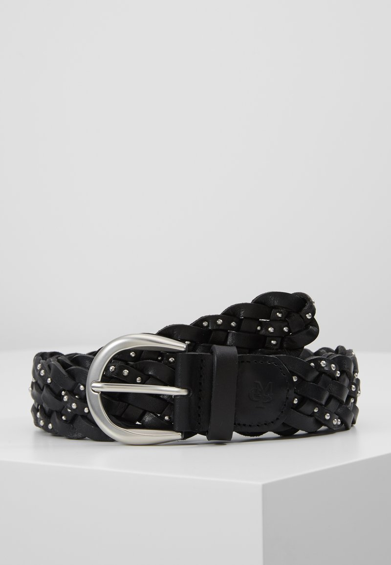 Marc O'Polo - BELT LADIES - Cinturón trenzado - black