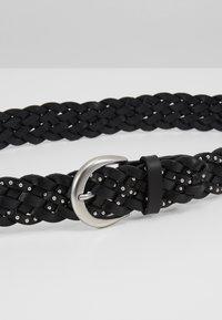 Marc O'Polo - BELT LADIES - Cinturón trenzado - black - 5