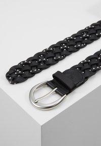 Marc O'Polo - BELT LADIES - Cinturón trenzado - black - 2