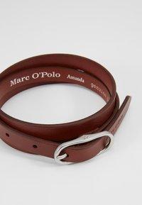 Marc O'Polo - BELT LADIES - Riem - cognac - 2