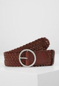 Marc O'Polo - BELT LADIES - Belt - cognac - 0