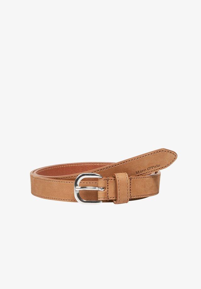 Belt - chestnut brown