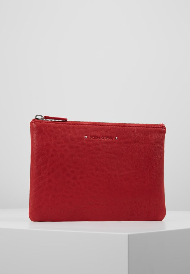 POUCH - Wash bag - lipstick red