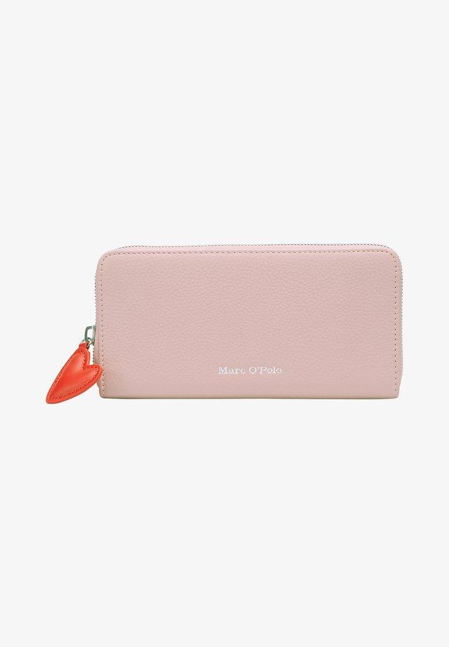 Geldbörse - mottled pink