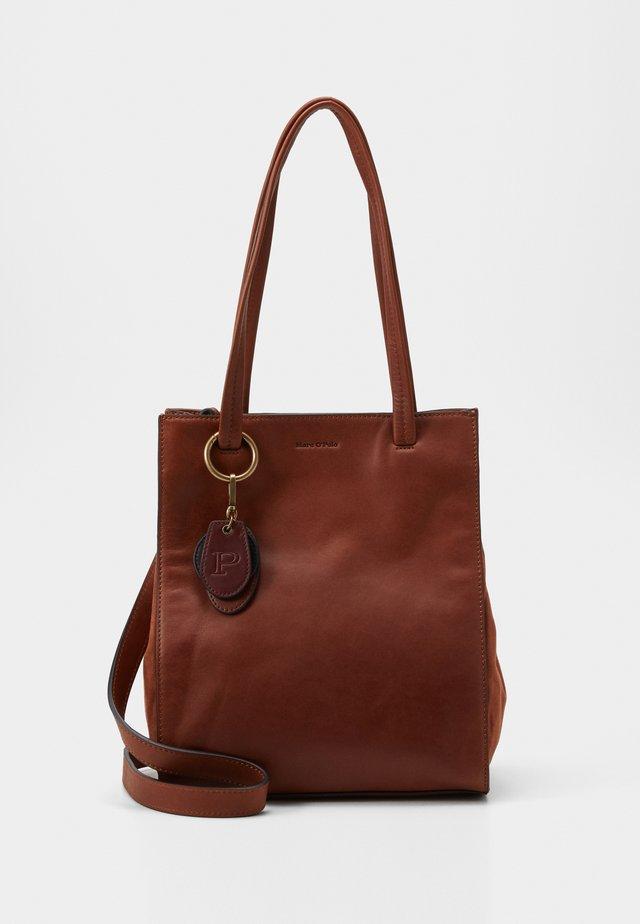 Handbag - authentic cognac
