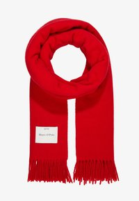 Marc O'Polo - SCARF COSY TONAL - Szal - cranberry red - 1