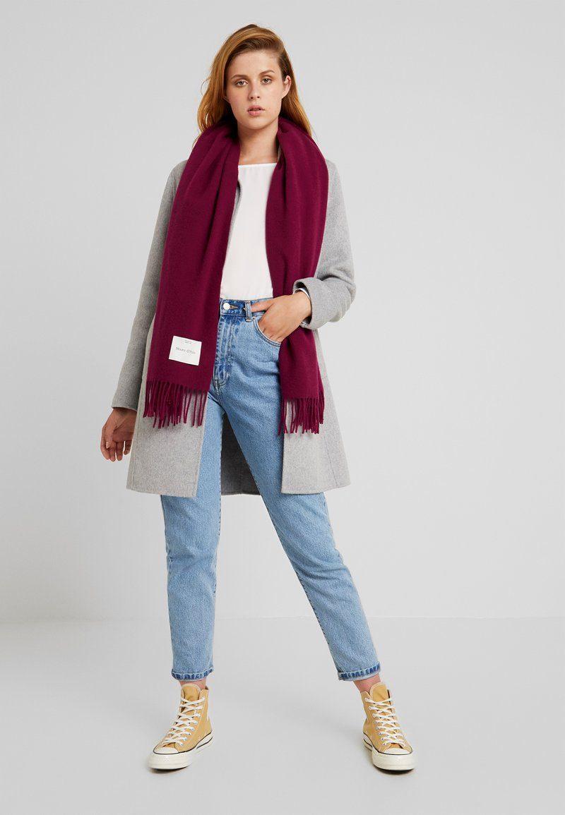 Marc O'Polo - SCARF COSY - Szal - berry pink
