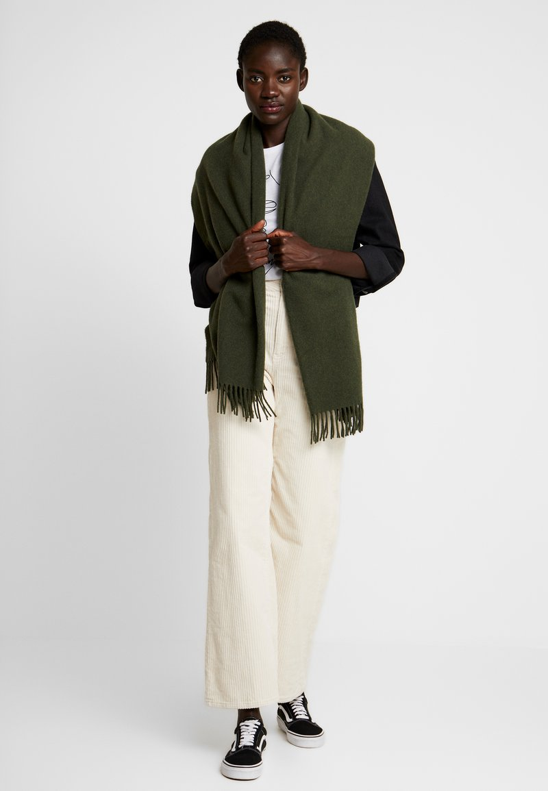 Marc O'Polo - SCARF COSY - Sjaal - farmland green