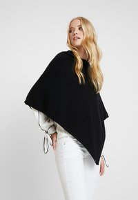 Marc O'Polo - PLAIN - Poncho - black - 0