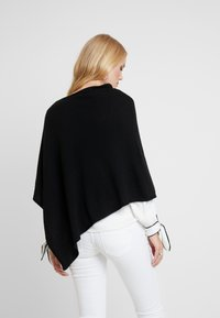 Marc O'Polo - PLAIN - Poncho - black - 2