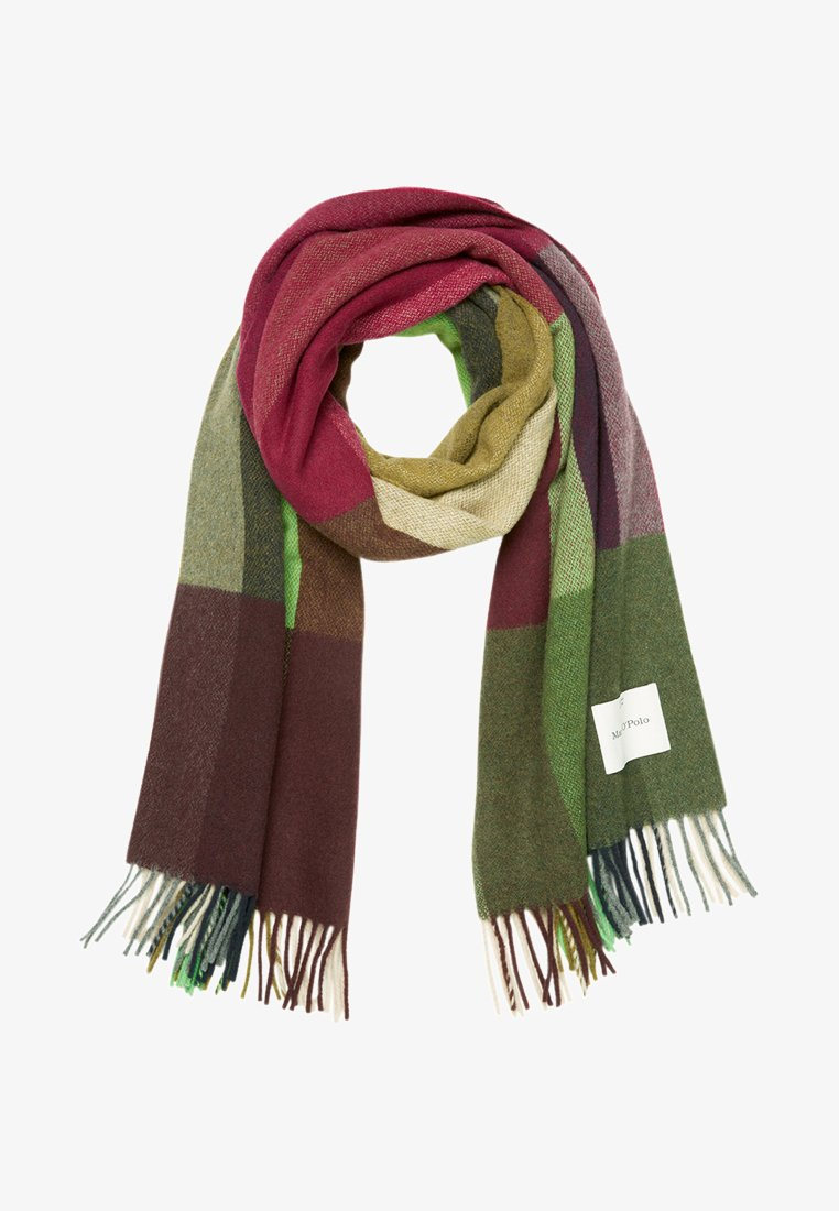 Marc O'Polo - FRINGE - Scarf - green