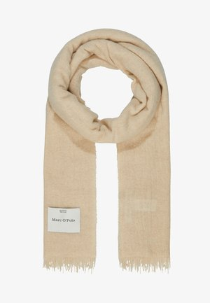 SCARF LIGHT COZY - Halsduk - hazelnut melange
