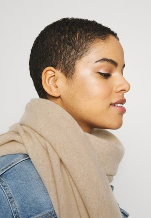 SCARF LIGHT COZY - Schal - hazelnut melange