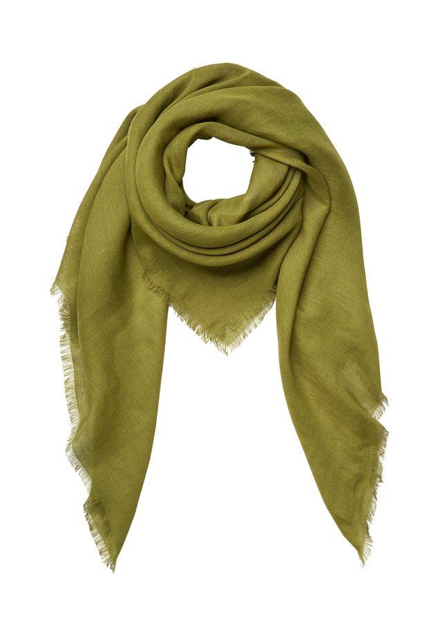 SHAWL WOVEN SMOOTH SOLID  - Foulard - seaweed green