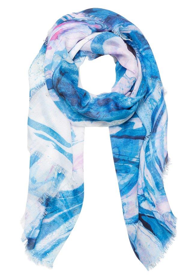 SCARF DIGITALLY - Scarf - light blue