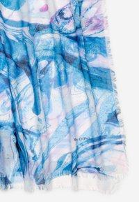 Marc O'Polo - SCARF DIGITALLY - Scarf - light blue - 3