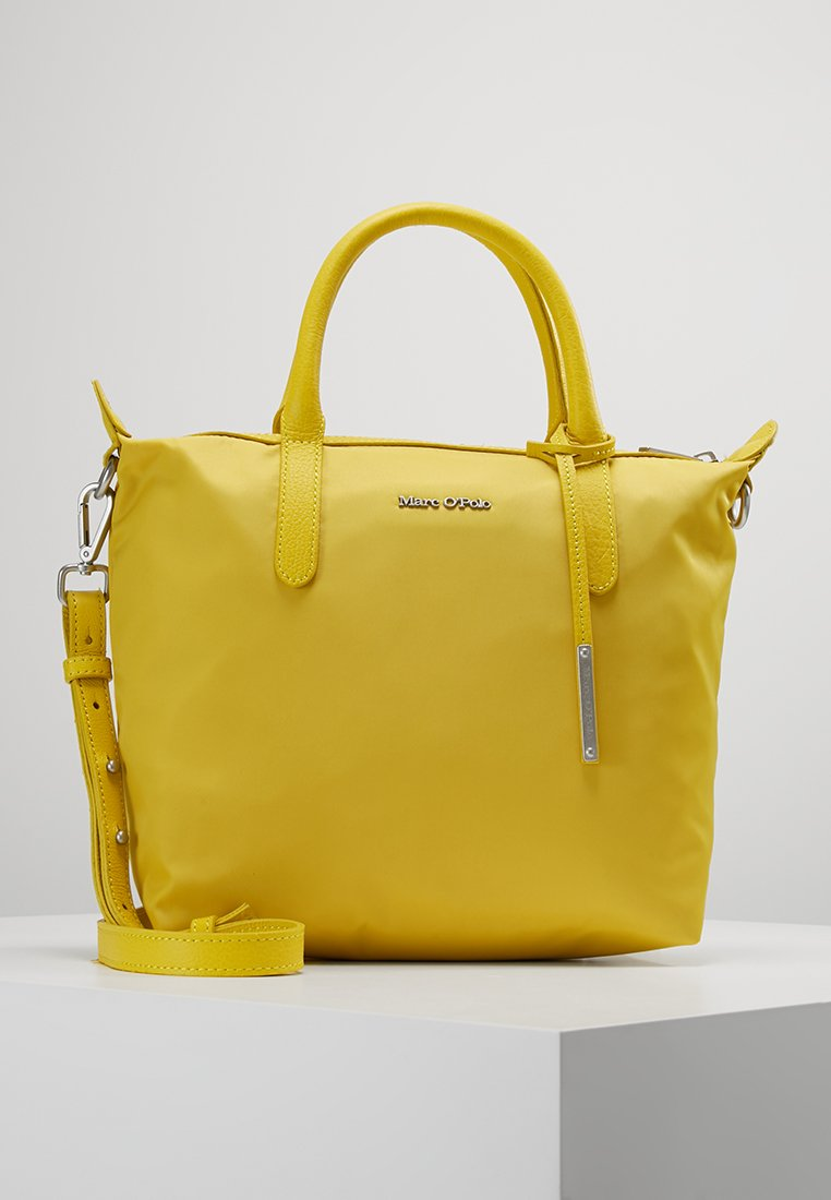 Marc O'Polo - MINI TOTE - Handtasche - lemon yellow