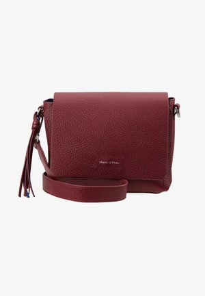 Sac bandoulière - berry red