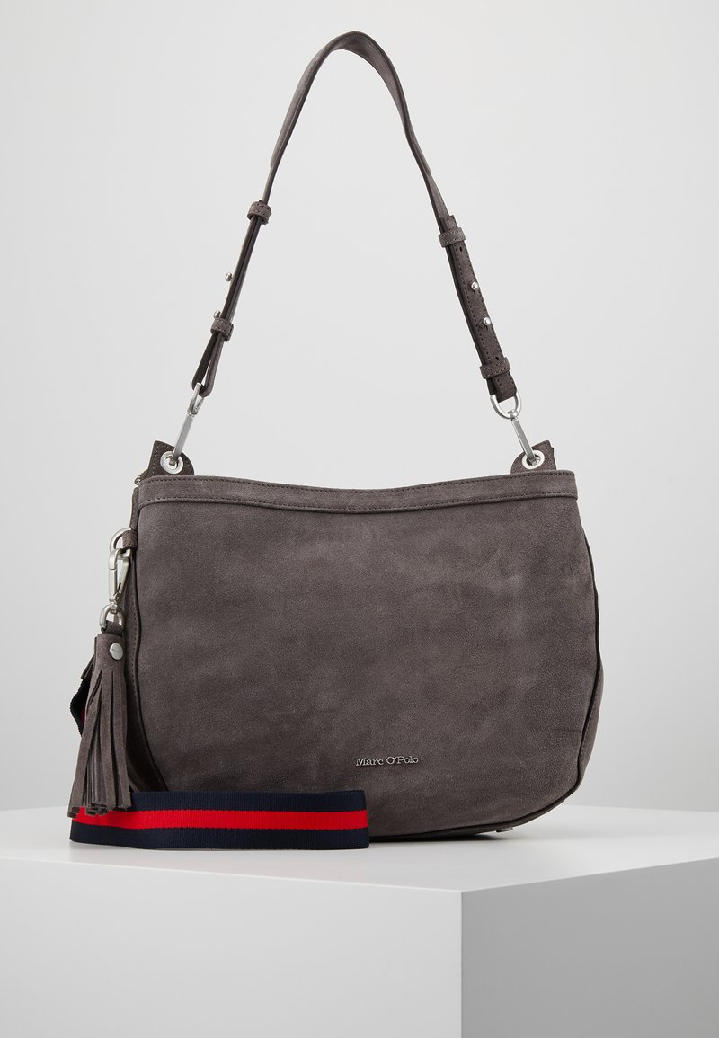 Marc O'Polo - CROSSBODY BAG - Handbag - grey