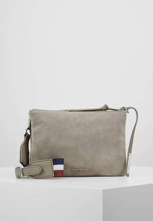 CROSSBODY BAG - Taška spříčným popruhem - stone grey