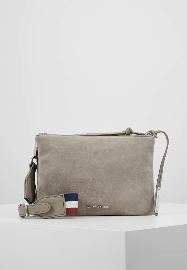 CROSSBODY BAG - Across body bag - stone grey
