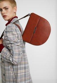Marc O'Polo - HOBO BAG - Across body bag - authentic cognac - 1