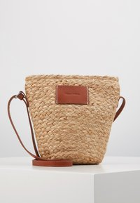 Marc O'Polo - CROSSBODY BAG - Umhängetasche - nature - 0